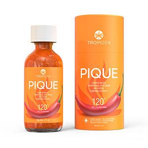 Tropizen's Pique Hot Sauce With Cannabis Extract