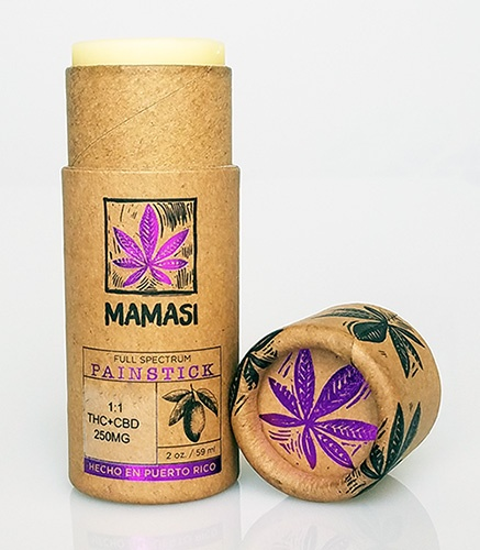 Tropizen's THC Infused Mamasi Pain Stick With THC