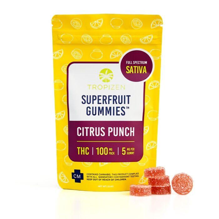 Tropizen's Superfruit Gummies