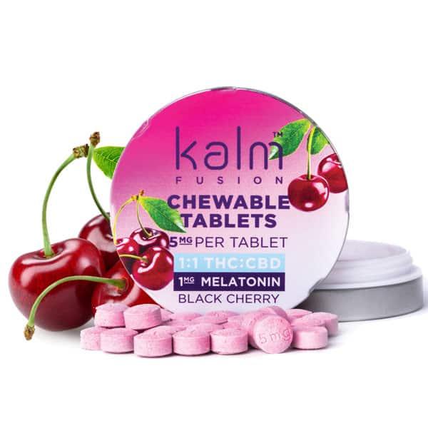 Kalm Fusion Black Cherry